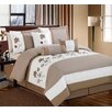 Phoenix Home Fashion Cynthia 7 Piece Bedding Set