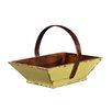 Antique Revival Asian Apple Fruit Basket with Handle