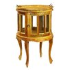 Antique Revival Joselin Display Cabinet with Tray