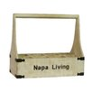 <strong>Antique Revival</strong> Napa Living 8 Bottle Wine Holder
