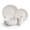 American Atelier Waverly 16 Piece Dinnerware Set