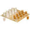 <strong>Game Night 27 Piece Checker Shot Glass Set</strong> by Crystal Clear