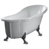 """<strong>Naples 66"""" x 21"""" Clawfoot  Slipper Tub</strong> by Ove Decors"""