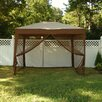 Bliss Hammocks Stow-ez 9 Ft. H x 10 Ft. W x 10 Ft. D Pop-up Gazebo