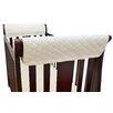 American Baby Company Organic Cotton Side Rail Cover 2 Piece Crib Bedding Set