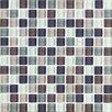 """Interceramic Shimme Blends 1"""" x 1"""" Ceramic Matte Mosaic in Autumn"""