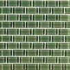 Interceramic Shimmer Ceramic Glossy Mosaic in Forest