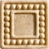 "Marazzi Romancing the Stone 2"" x 2"" Compressed Stone Dot Insert in Ivory"