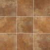 "Marazzi Stone Age 6"" x 6"" Glazed Ceramic Field Tile in Lava River"