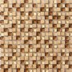 <strong>Crystal Stone Glass/Stone Mosaic in Caramel</strong> by Marazzi