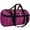 Wildkin Pink Leopard Large Duffel