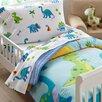 Wildkin Olive Kids Dinosaur Land Toddler Sheet Set