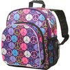 <strong>Peace Signs Purple Pack 'n Snack Backpack</strong> by Wildkin