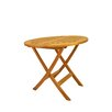 "Anderson Teak Windsor 31"" Round Picnic Folding Table"