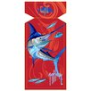 Fiberbuilt Guy Harvey Red Marlin Sea Towel