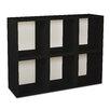 Way Basics Eco Friendly Modular Storage Cubes Plus (Set of 6)