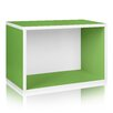 Way Basics Eco Friendly Rectangle Plus Storage Unit