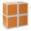Way Basics 4 Cube Modular Storage Box
