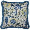 Waverly Imperial Dress Garden Path Striped Reversible Throw Pillow