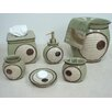 Sherry Kline Encircle 6 Piece Bathroom Accessory Set