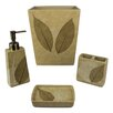 Sherry Kline Rindge 4 Piece Bathroom Accessory Set