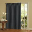 <strong>Eclipse Curtains</strong> Patio Door Rod Pocket Window Curtain Single Panel