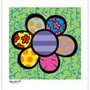 <strong>Flower Power IV Canvas Art</strong> by Art 4 Kids