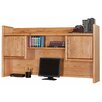 <strong>Martin Home Furnishings</strong> Contemporary Medium Oak Bookshelf Hutch