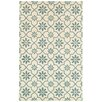 Rizzy Home Opus Ivory/Green Area Rug
