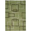 <strong>Rizzy Home</strong> Tango Green Bubblerary Rug