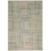 Rizzy Home Tango Silver/Blue Bubblerary Rug