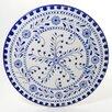 """Le Souk Ceramique Azoura Design 15"""" Round Platter"""