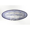 """<strong>Azoura Design 21"""" Oval Platter</strong> by Le Souk Ceramique"""