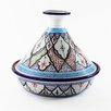 "Le Souk Ceramique 12"" Tibarine Design Cookable Tagine"