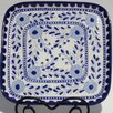 "<strong>Azoura Design 11.5"" Square Platter</strong> by Le Souk Ceramique"