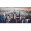 Moe's Home Collection City Dusk Painting Print on Canvas