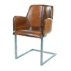 <strong>Steve Leather Arm Chair</strong> by Moe's Home Collection
