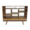 "Moe's Home Collection Bliss 19.69"" Open Bookshelf with Drawers"