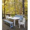 <strong>Carolina Preserves Garden Bench</strong> by Uwharrie Chair