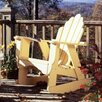 <strong>Fanback Rocking Chair</strong> by Uwharrie Chair