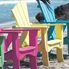 Uwharrie Chair Wave Adirondack Chair
