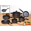 <strong>10-Piece Set with BONUS Crepe Pan!</strong> by Swiss Diamond