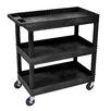 "<strong>E Series 36.25"" Utility Cart</strong> by Luxor"