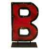 Groovystuff Moonshine Metal Letters B on a Stand Letter Block