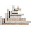 """Emser Tile Strands 4"""" x 4"""" Floor Listello Corner in Light"""