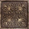 "Emser Tile Camelot 4"" x 4"" Merlin Deco in Bronze"