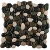 Emser Tile Rivera Random Sized Pebble Mosaic in Spring