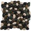 Emser Tile Rivera Random Sized Pebble Unpolished Mosaic in Spring