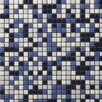 "Emser Tile Image 1/2"" x 1/2"" Glass Glossy Mosaic in Semblance Blend"
