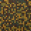 """Emser Tile Image 1/2"""" x 1/2"""" Glossy Glass Mosaic in View Blend"""